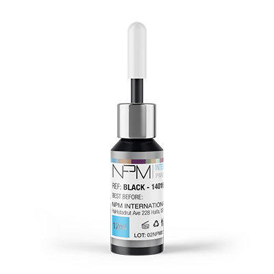 Pigment pentru dermopigmentare – BLACK 14016 NPM