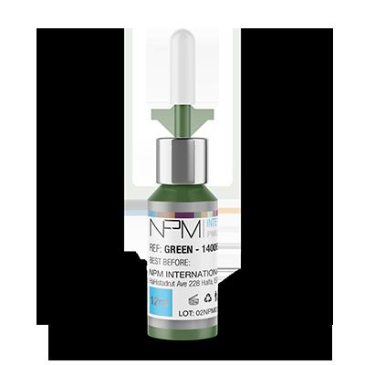 Pigment pentru dermopigmentare – GREEN 14006 NPM